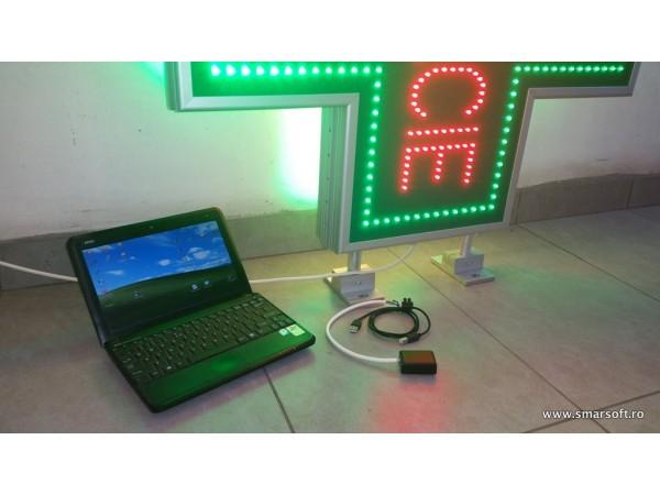 Kit programare PC-reglare intensitate pentru gama de semnalizare