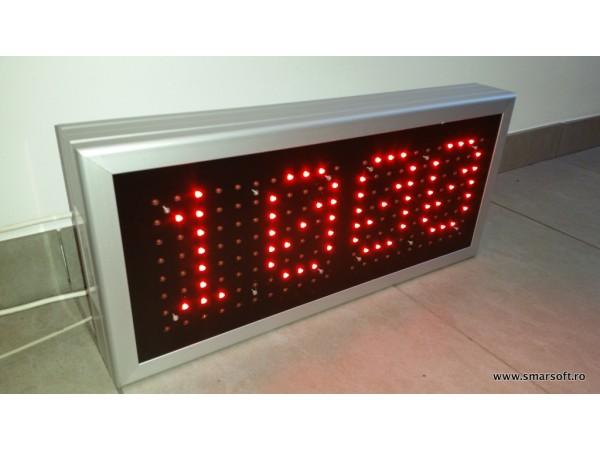 Afisaj LED cu protocol MODBUS