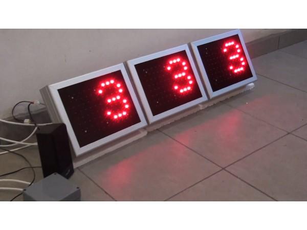 Sistem afisaje LED conectate la modul VOCE