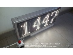 Numarator 4 caractere, dimensiuni 730 x 310, LED-uri OSRAM, DP 20mm
