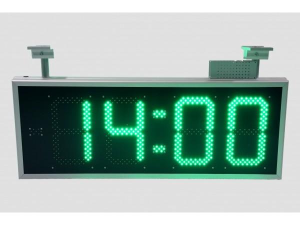 Ceas electronic model 2, Ora-Data-Temperatura, 900mm x 350mm