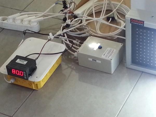 Numarator cu LEDuri 724mm x 260mm, DP16mm, model proiectat pentru TIPOGRAFIE