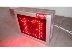 Cronometru cu LED-uri 2 caractere, dimensiune 270mm x 210mm,DP12