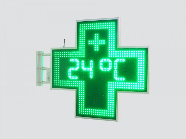 Cruce farmacie 950 x 950, model Ora-Data-Temperatura