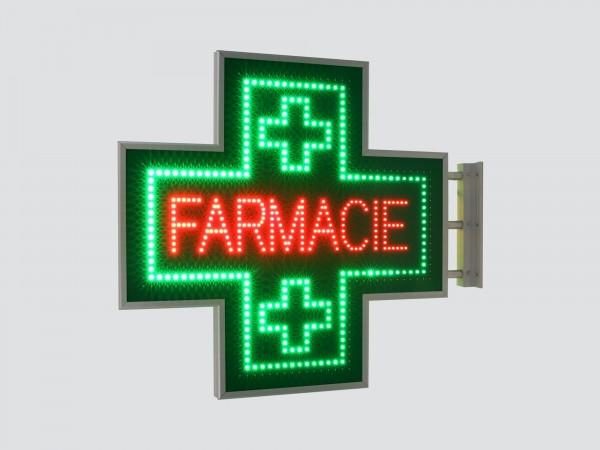 Cruce farmacie 900 x 900 SEMNALIZARE, model FARMACIE