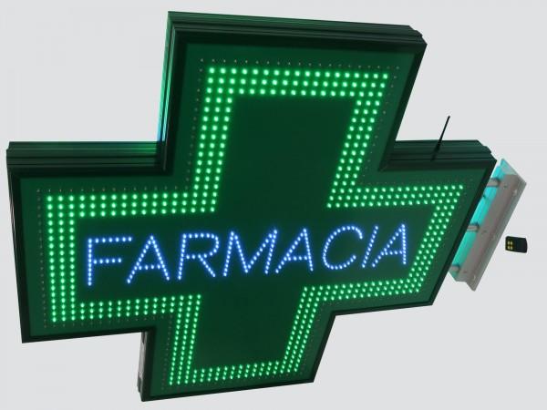 Cruce farmacie 1050 x 1050 SEMNALIZARE, model FARMACIA