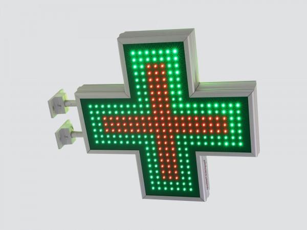 Cruce farmacie 600 x 600 SEMNALIZARE, model FULL LED