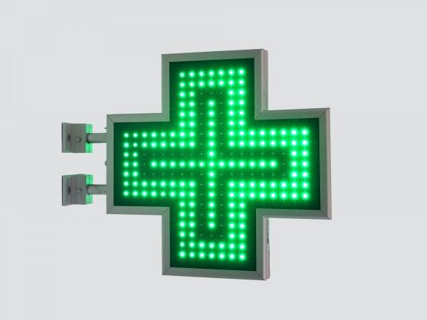Cruce farmacie 500 x 500 SEMNALIZARE, model FULL LED