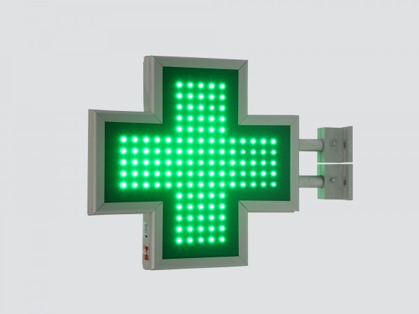 Cruce farmacie 390 x 390 SEMNALIZARE, model FULL LED
