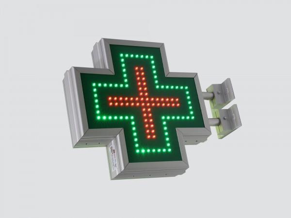 Cruce farmacie cu LED-uri 400 x 400 SEMNALIZARE