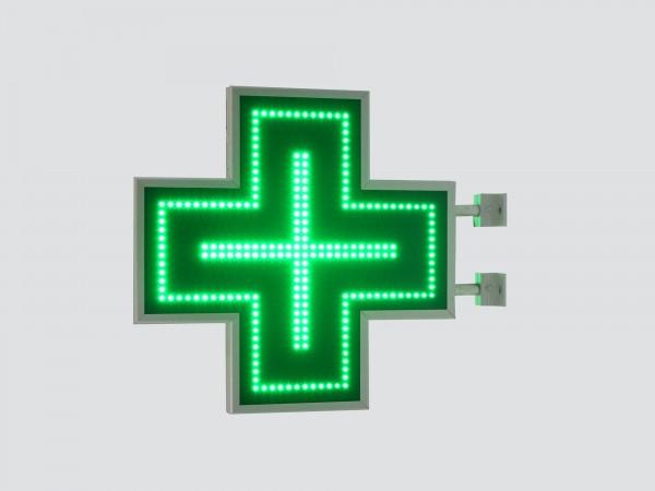 Cruce farmacie 600 x 600 SEMNALIZARE, model CLASIC
