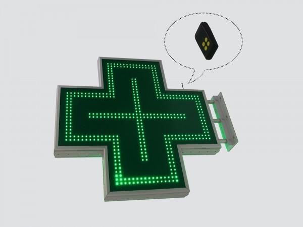 Cruce farmacie 900 x 900 SEMNALIZARE, model CLASIC