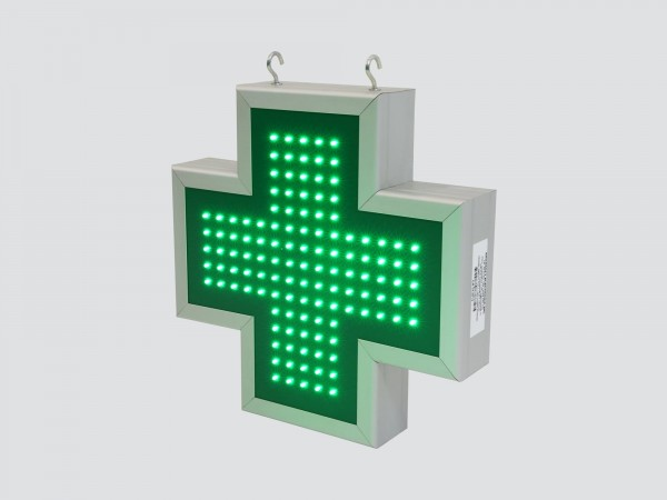Cruce farmacie 390 x 390 FULL LED, model VITRINA