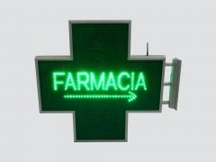 Cruce farmacie 900mm model FARMACIE cu sageata de orientare