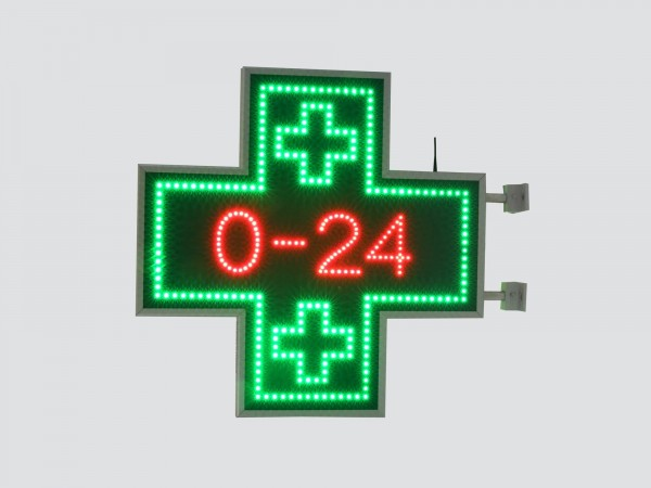 Cruce farmacie 850 x 850 CLASIC pentru Farmaciile cu program NON-STOP