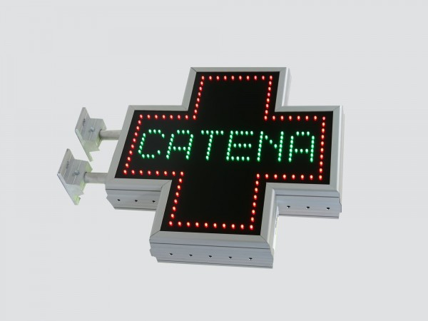 Cruce farmacie 500mm ECONOMY, model personalizat pentru farmaciile CATENA