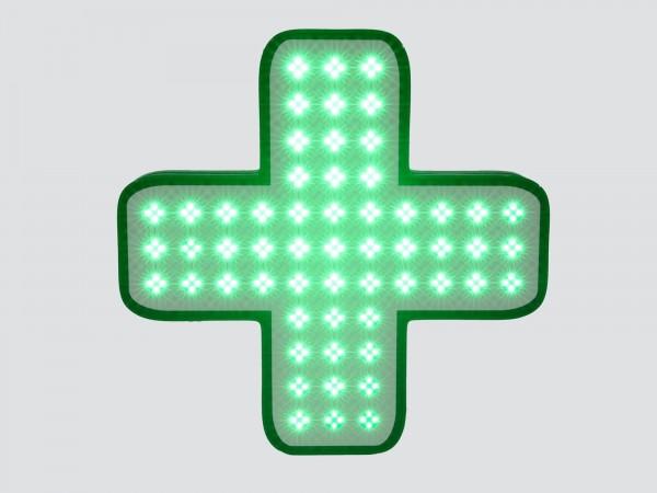 Cruce farmacie 600MM, model VITRINA , personalizat pentru FARMACIILE HELPNET