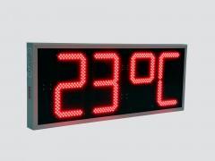 Ceas electronic model 3, Ora-Data-Temperatura, 1008mm x 412mm