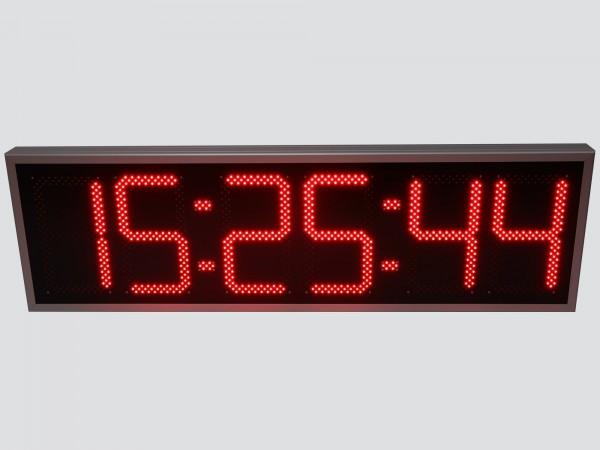 Ceas electronic model 5, Ora-Data-Temperatura, 1400mm x 420mm