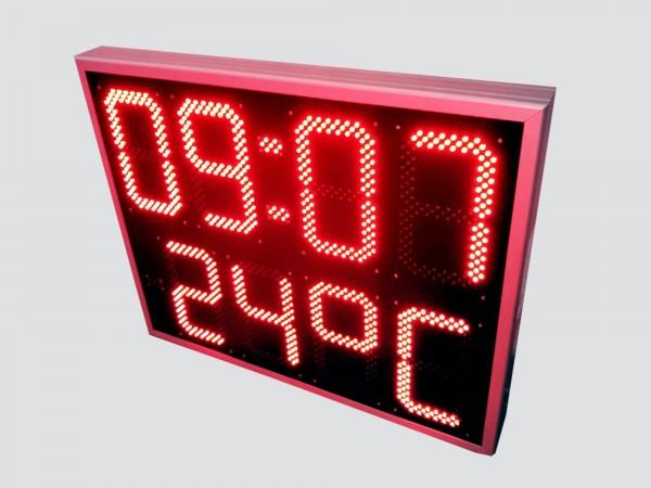 Ceas electronic model 6, Ora-Data-Temperatura, 782mm x 630mm