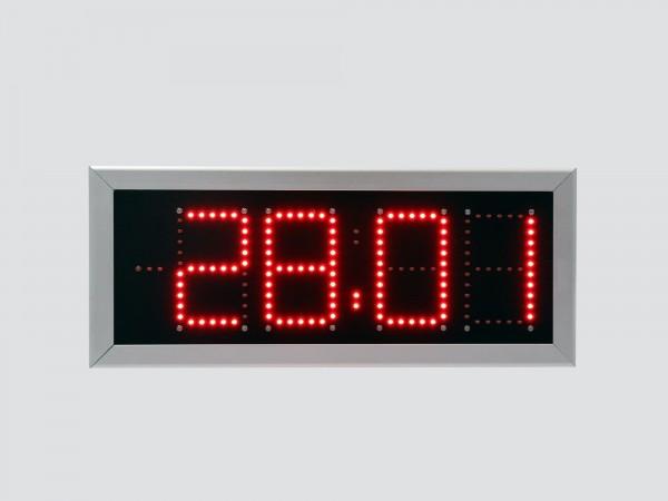 Ceas electronic stradal model 7,Ora-Data-Temperatura, 457mm x 191mm