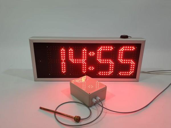 Ceas electronic ODT model 1, 696mm x 293mm, senzor pentru masurarea temp apei