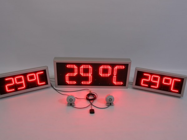 Sistem ceasuri electronice gama ODT sincronizate pe fir, dotat cu GPS antena externa si sonerie