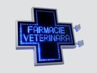 Reclame cu LED-uri pentru farmacii si cabinete veterinare