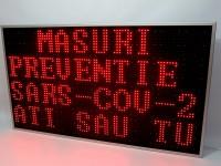 Afisaje cu LED-uri 4 randuri